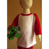 Childs 2 Tone Long Sleeve T-shirt