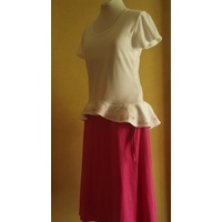 Beautiful Cotton Jersey Wrap Skirt