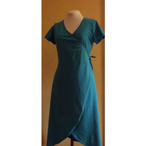 Cotton Wrap Dress